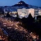 """Grecia: miles marchan para pedir el """"No"""" en el referéndum"""