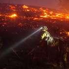 Impactante incendio arrasa con casas en Washington