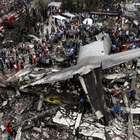 Queda de avião militar sobre casas na Indonésia pode ter ...