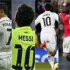Las camisetas de los futbolistas más vendidas del año