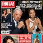Vargas Llosa confirma relación con mamá de Enrique Iglesias