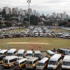 SP: motoristas protestam contra cadeirinha em vans escolares