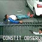 Asaltante baleado en Constituyentes, murió esta tarde