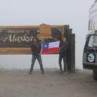 Pareja chilena emprende un viaje desde Alaska a la Patagonia