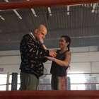Cléo Pires faz treinamento para filme do lutador José Aldo