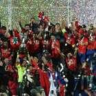 Canal 13 lidera transmisión histórica final de Copa América