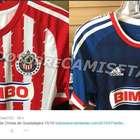 ¿Así serían los nuevos uniformes de las Chivas?
