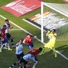 Argentina tuvo las más claras, pero chocó con Bravo