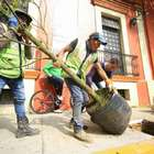 Pese a protestas, inicia GDF reforestación en Río Mixcoac