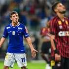 Uruguaio brilha, Cruzeiro quebra jejum e derrota Atlético-PR