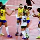 Brasil domina Tailândia e fecha primeira semana com 100%