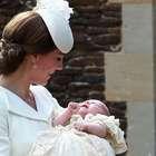 Moda y glamour en el bautizo de la princesita Charlotte