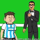 Parodia final Copa América: Cristiano se burla de Messi