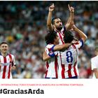 """""""Siempre llevaré al Atlético en mi corazón"""", Arda Turan"""