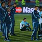 Niños que consolaron a Messi son primos de Charles Aránguiz