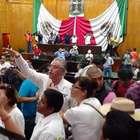 Universitarios toman Congreso de Morelos