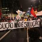 SP: 8 mil marcham contra a redução e prometem ato maior