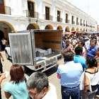 Perredistas hallan boletas electorales robadas en Oaxaca