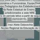 Ofício convoca professores estaduais para início das aulas