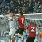 Veja lances de Hannover 1 x 1 Stuttgart pelo Alemão