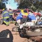 Maio Amarelo: Simulado de acidente de trânsito em Cascavel