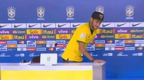 Neymar sobre críticas de Ribeiro a Felipão: 'vou xingar ele'