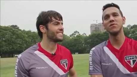 Kaká e Souza falam sobre os bastidores da Seleção Brasileira