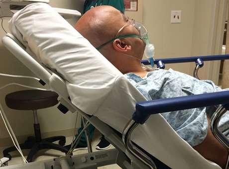Lupillo Rivera fue internado por un mal respiratorio