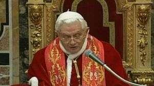 Ouça trechos da carta de renúncia de Bento XVI