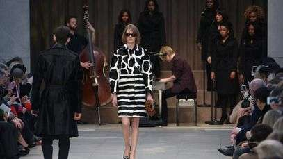 Confira o desfile de Burberry Prorsum na London Fashion Week