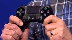 Veja o controle Dual Shock, do novo PlayStation 4