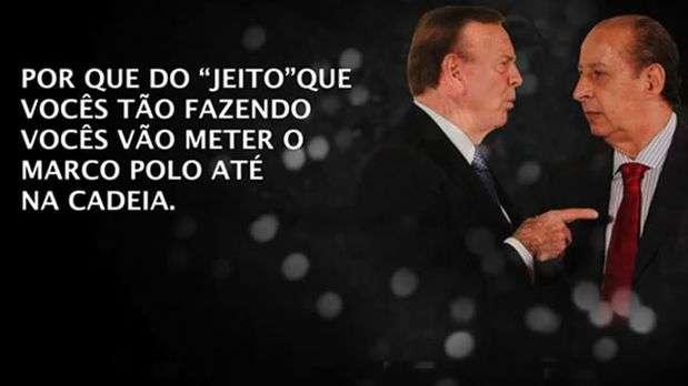 Romário publica link de vídeo polêmico e pede prisão de Marin