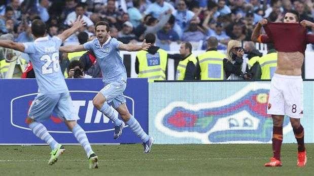 Lazio vence rival Roma e conquista 6 Copa da Itlia