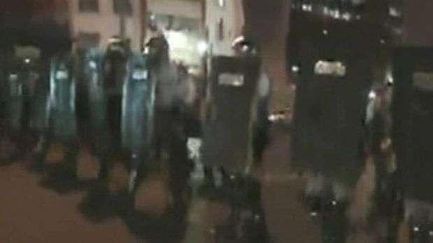 Tropa de choque avança sobre manifestantes do 'Passe Livre'