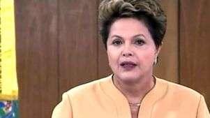 Dilma apoia manifestações, mas condena atos de vandalismo