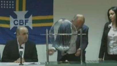 Confusão com bolas atrapalha sorteio da Copa do Brasil