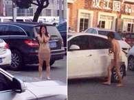 Traída, chinesa deixa marido e irmã nus em estacionamento
