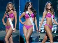 Candidatas ao Miss Universo desfilam de biquíni em Miami