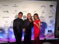 Mulherão! Sasha acompanha Xuxa e Junno em evento nos EUA