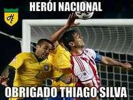 Valeu, Thiago Silva! Evitou novo vexame e virou Rei do Meme
