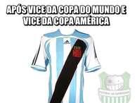 Já viu o novo uniforme da Argentina? Memes não perdoam vice