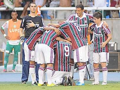 Gol de Emerson deu título ao Fluminense. Foto: Wallace Teixeira/Agência Photocamera