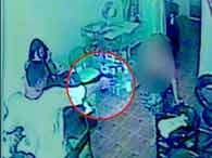 Crime aconteceu em Belo Horizonte e foi filmado pelas câmeras de segurança. Foto: Reprodução