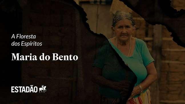 Maria do Bento se apaixonou pelo espírito Manoel Borges