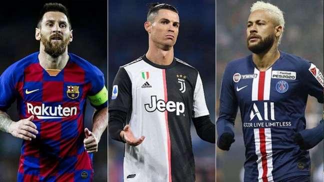 Veja o top 10 dos jogadores mais bem pagos do mundo