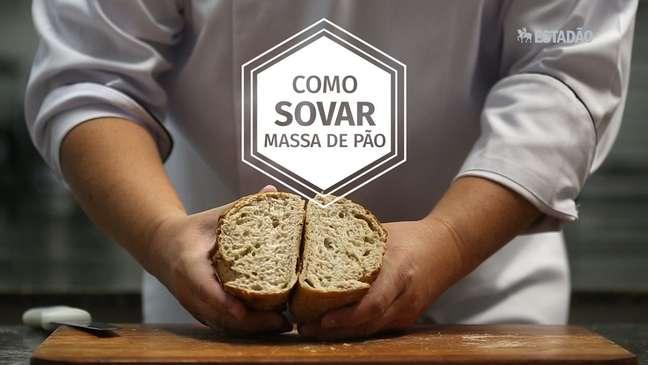 Como sovar massa de pão