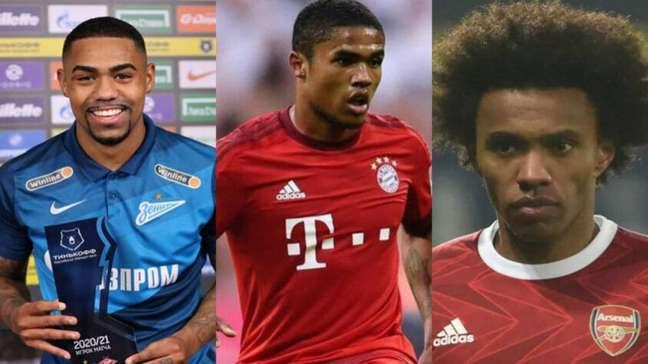Os brasileiros que podem reforçar o seu clube