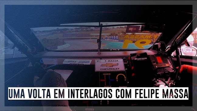 A pedido do Estadão, Felipe Massa narra uma volta em Interlagos