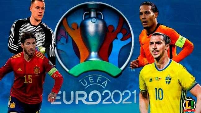 A seleção com jogadores que não foram convocados para a Eurocopa