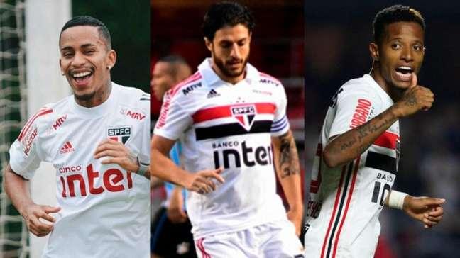 Veja os jogadores que estão emprestados pelo São Paulo